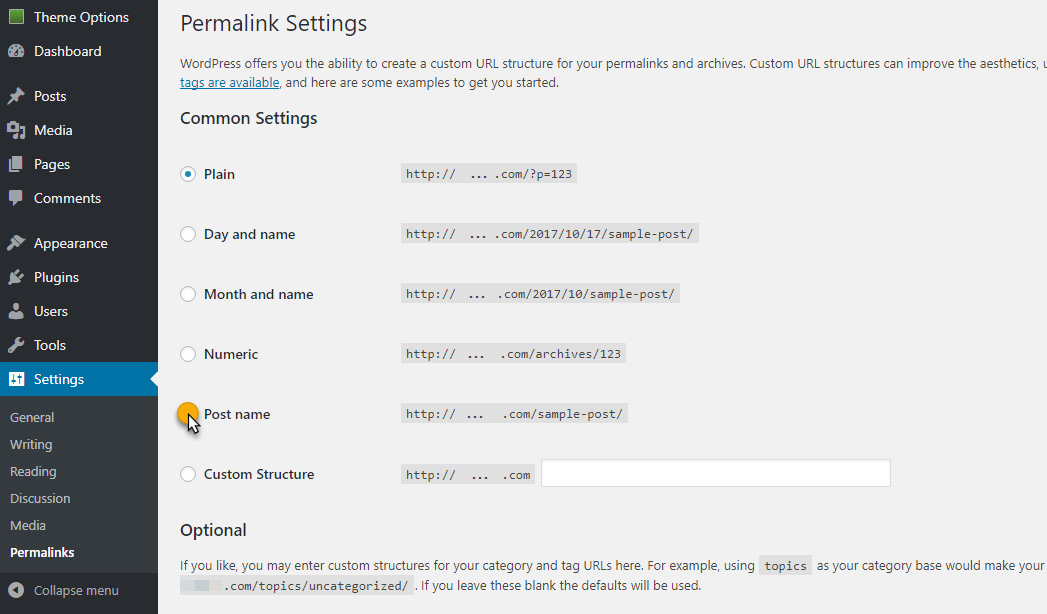 WordPress: Overview & Recommended Settings